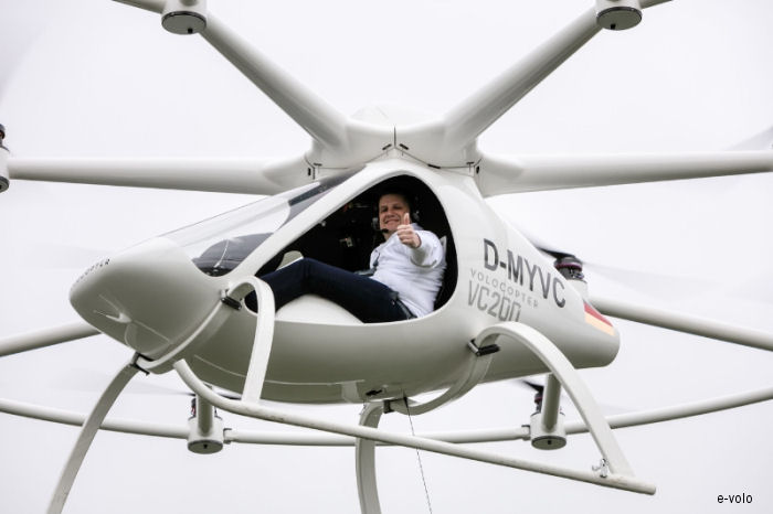 Volocopter is Flying Manned! - Dawn of a Revolution in Urban Mobility