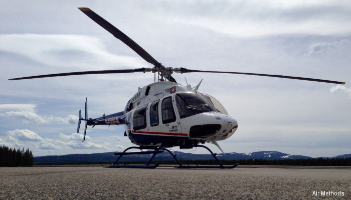 Air Methods with Eastern Idaho Regional Medical Center (EIRMC) extends Air Idaho Rescue to Yellowstone and Grand Teton National Parks, the Gallatin National Forest and the Madison River valley