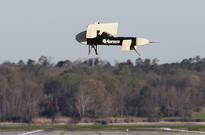 Aurora Successfully Flies Subscale X-Plane Aircraft