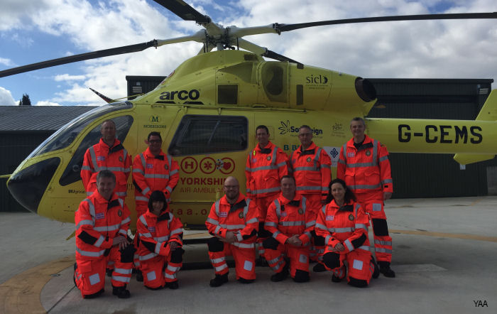 Doctors Join New Yorkshire Air Ambulance Critical Care Team