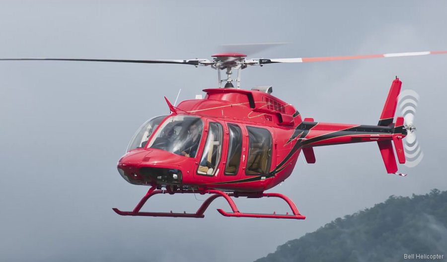 Nigeria' Caverton signed purchase of 8 Bell 407GXP helicopters to support the oil and gas industry. Deliveries scheduled to start this year.