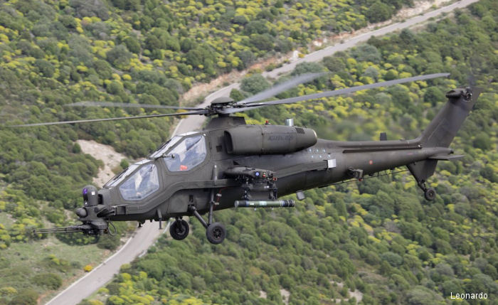 Leonardo signed with Italian Defence Ministry NEES agreement to develop and procure 48 new exploration and escort helicopters to replace the current fleet of AW129 Mangusta by 2025.