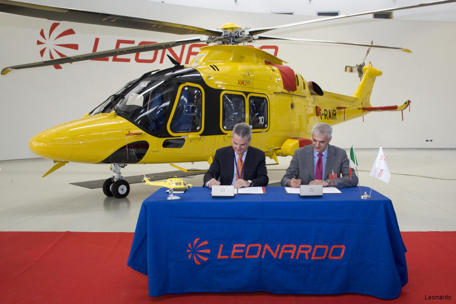 The capability of anaesthesiologists and first responders join hands with Leonardo technology for a better Helicopter Emergency Medical Service (HEMS)