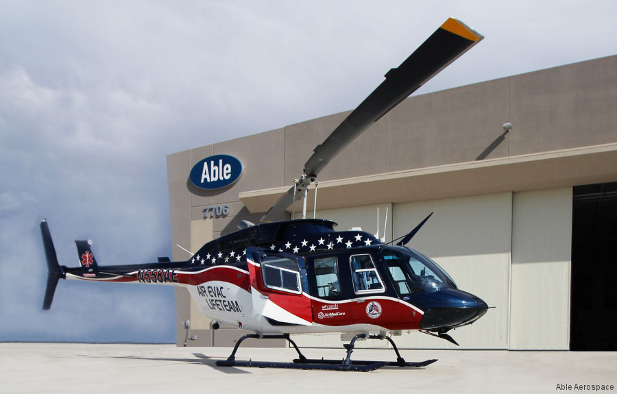 Air Evac Lifeteam which is part of AMGH, the largest U.S. air ambulance service, signs 7-years support contract renewal for their 128 Bell 206 helicopters