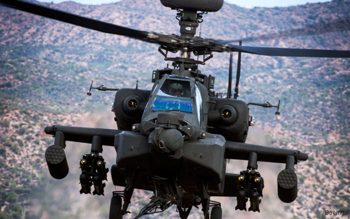 "In the first multi-year agreement for the Apache ""E"" variant. The U.S. Army will receive 244 remanufactured Apaches while 24 new ones will go to the international customer during next 5 years."