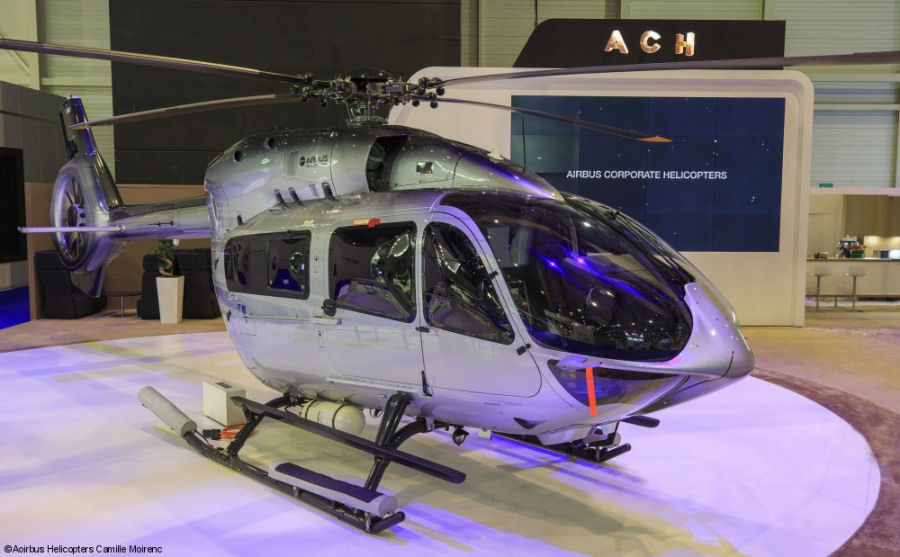 Airbus Corporate Helicopters, which will be identified by the ACH logo, is the new dedicated private and business aviation helicopter brand and was launched at EBACE 2017 in Geneva
