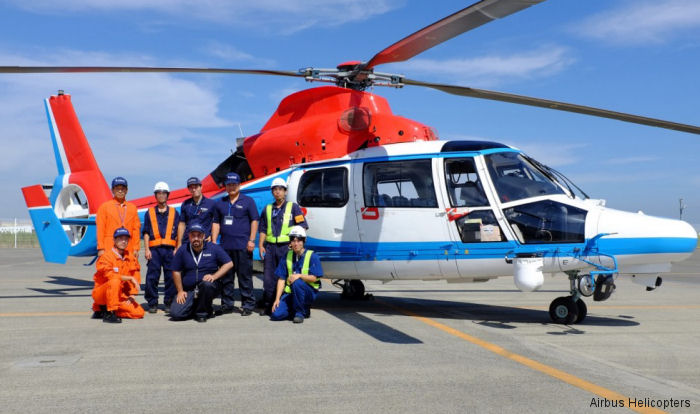 Airbus Helicopters Japan conducted Category A Flight Tests for 2 years to guarantee the safety of their helicopters