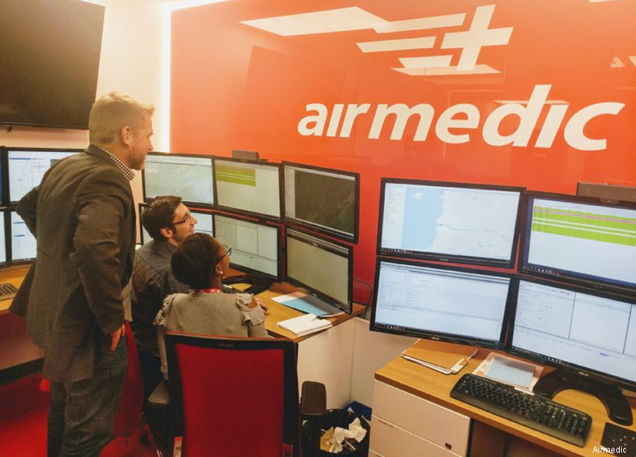 Airmedic's New Call Dispatch System