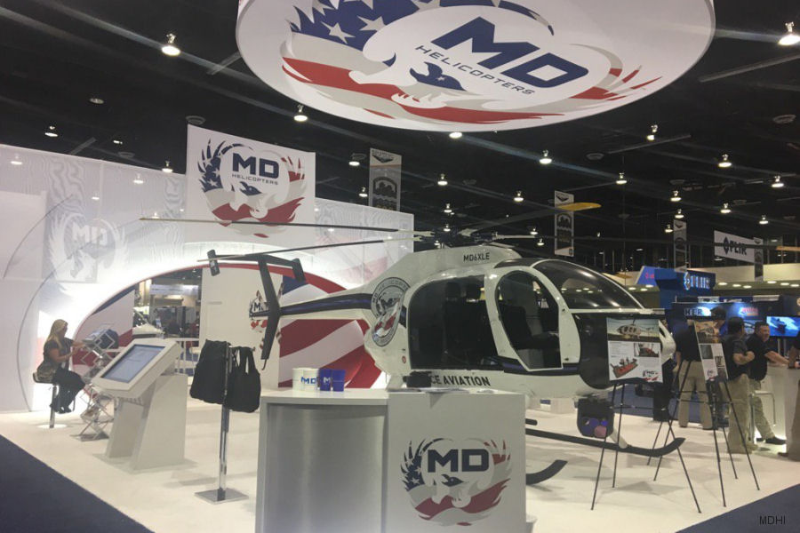 MDHI to feature the MD 6XX Concept Helicopter at 2017 Airborne Law Enforcement Association Annual Conference