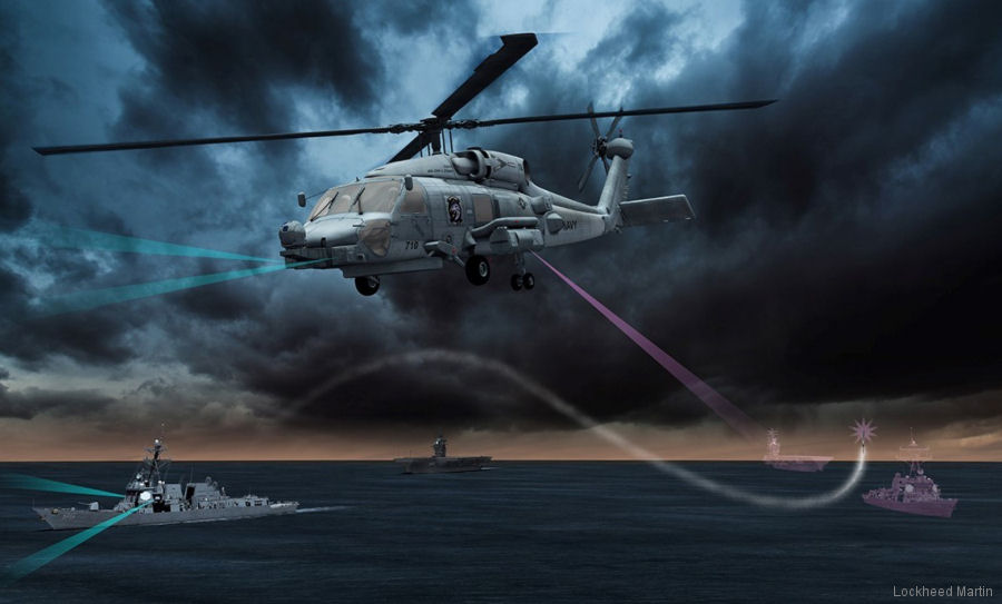 Lockheed Martin's Advanced Off-Board Electronic Warfare (AOEW) system to provides surveillance and countermeasure capabilities from US Navy MH-60 Seahawks helicopters passes review milestone