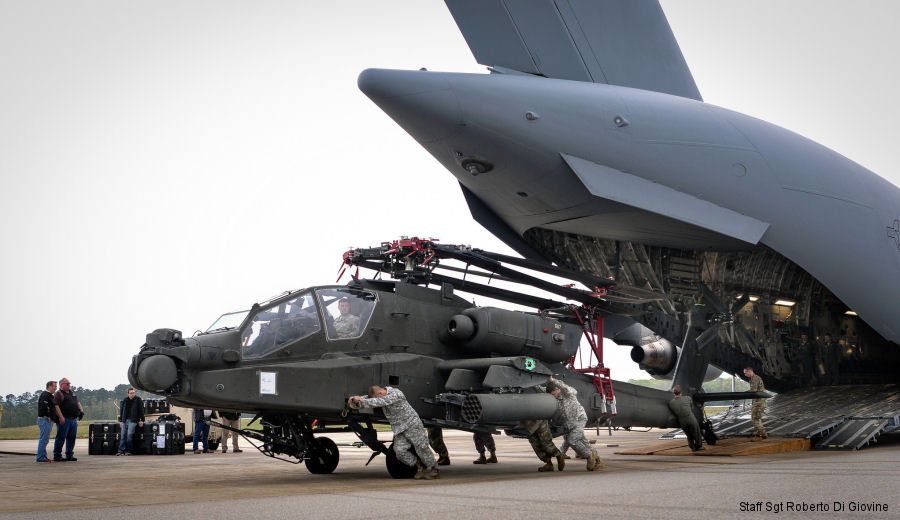 South Carolina Army National Guard 1-151st Attack Reconnaissance Battalion (ARB) trained on a new blade folding kit for the AH-64 Apache at McEntire Joint National Guard Base (JNGB)