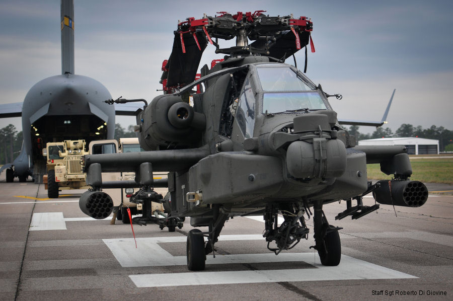 Soldiers conduct new Apache blade folding kit training