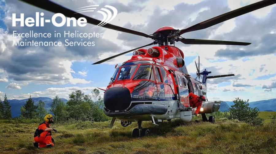 Heli-One Norway, CHC MRO provider, completed an AS332L1 Super Puma search-and-rescue (SAR) reconfiguration for Helicokter Service  contracted by the Norwegian government