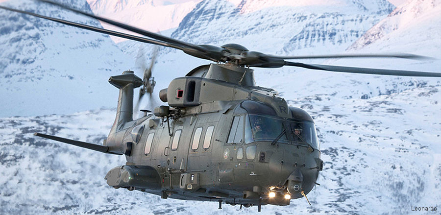 UK Government and Leonardo working closely together to increase export sales of the AW101 and AW159 helicopters