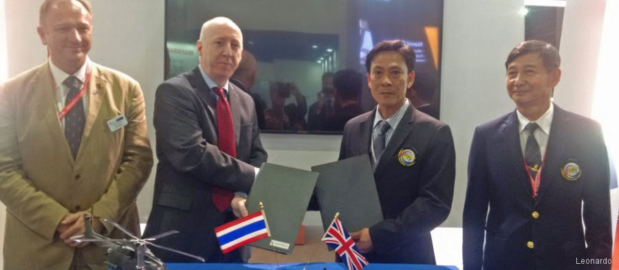 Thailand Signs MoU for AW101