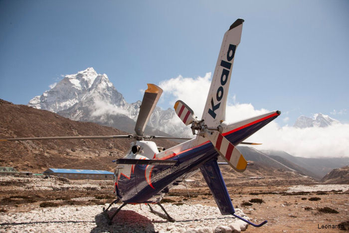 AW119Kx at the Everest Base Camp