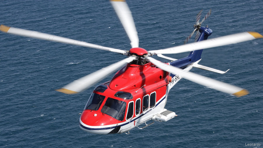 The AW139 surpass the 2 million flight hours. Fleet leader, operated by CHC Netherlands, exceeded 12,000 hours. Currently 900 are in service with more than 300 customers in 80 countries