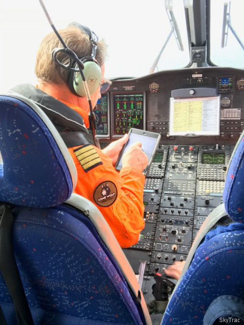 CHC, in collaboration with Leonardo and SKYTRAC, successfully completed testing of a real-time Health and Usage Monitoring System (HUMS) and cockpit Electronic Flight Bag (EFB) solution on an AW139