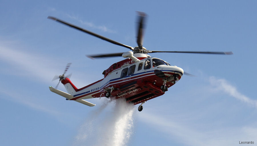 Mitsui Bussan Aerospace, Leonardo Japanese distributor, signed AW139 and AW169 contracts with the Tokyo, Shizuoka, Fukushima and Yamaguchi fire agencies