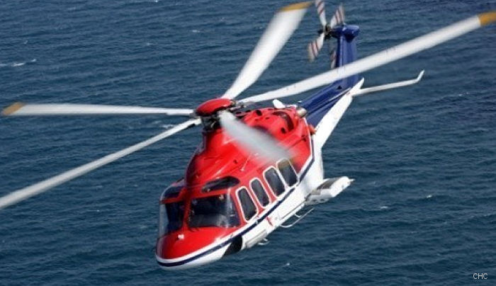 CHC's 10th year of flying AW139s in SAR/EMS and oil and gas transfer brings a major milestone. Was first AW139 operator in Australia. CHC global fleet logged more than 125,000 flying hours