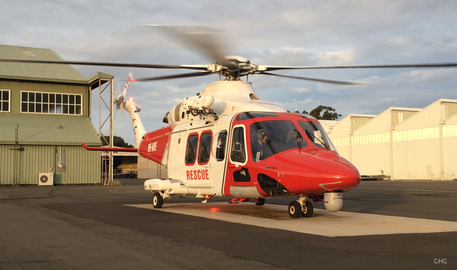CHC awarded 15 month contract to provide AW139 helicopter Aviation Emergency Response services out of Nowra base in NSW. With this, CHC now provides SAR to all the 3 Australian Defence Force services.