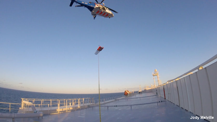 Bristow Australia AW139 Medevacs Sailor  Helicopter Database