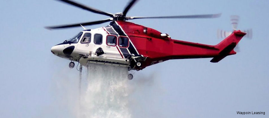 "Waypoint Leasing in technical partnership with Eagle Copters presented the Waypoint Medium Utility Helicopter (""MUH"") for legacy AW139 variants for use in utility missions as firefighting"