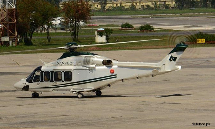 Pakistan orders another batch of AW139 for utility, SAR and EMS with deliveries starting in early 2018. At least 11 helicopters are already in service since 2009 in both military and civilian use