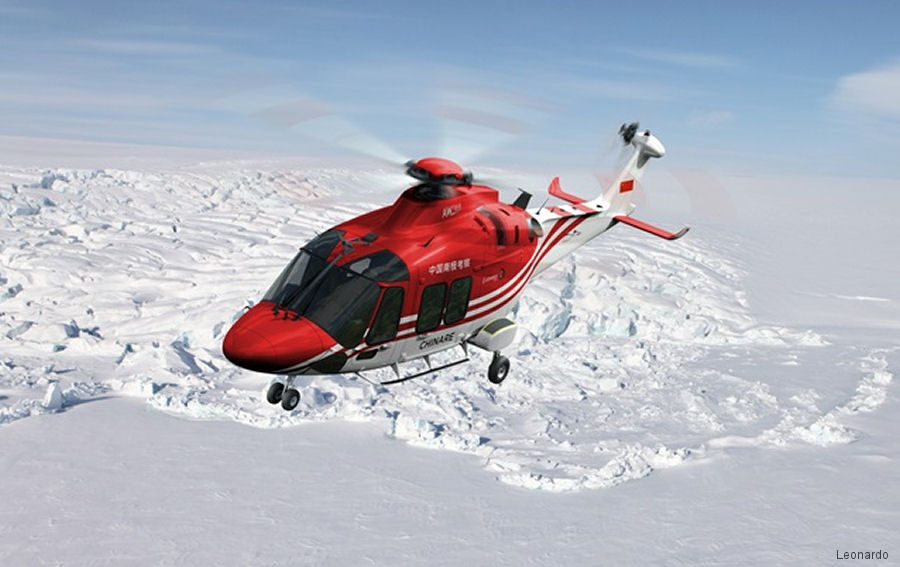 AW169 to support Chinese Polar Scientific Exploration Missions