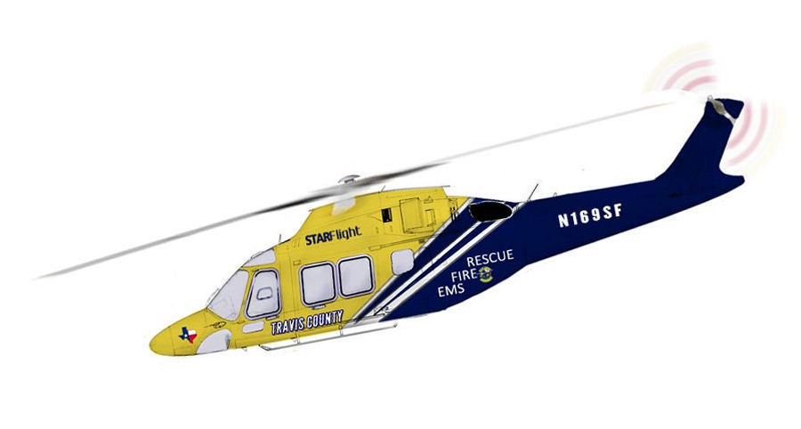 Travis County in Texas acquired 3 AW169 for its emergency medical system (EMS) STAR Flight program. Additionally they will be equipped with a hoist and a 300-gallon Simplex belly tank