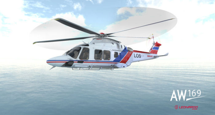 Norwegian Civil Aviation Authority approved Airworthiness and Maintenance for Airlift AW169. LCI leased three for a 6 years contract with the Norwegian Coastal Administration (Kystverket)