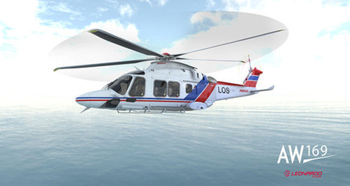Airlift, the Norwegian subsidiary of Belgian NHV Group, to lease 3  AW169 from LCI to support Norway NCA' contract for pilots transfer operations