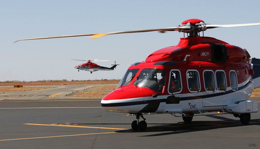 CHC will be the first to operate the AW189 helicopter in Australia