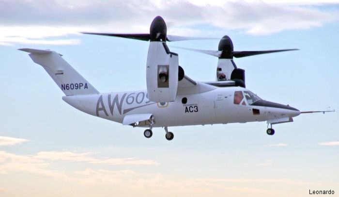 AW609 Programme Moves Forward Preparing For Icing Trials