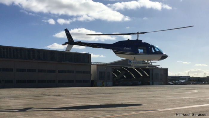Australia-based Heliwest Services and U.S-based Van Horn Aviation (VHA) recently assisted with the first flight of the Van Horn 206B composite main rotor blades in Australian skies over Melbourne