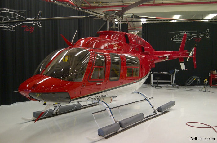 Newfoundland Helicopters, which was the first in Canada to receive the Bell 407GX in 2012, now received a Bell 407GXP for its charter aircraft service