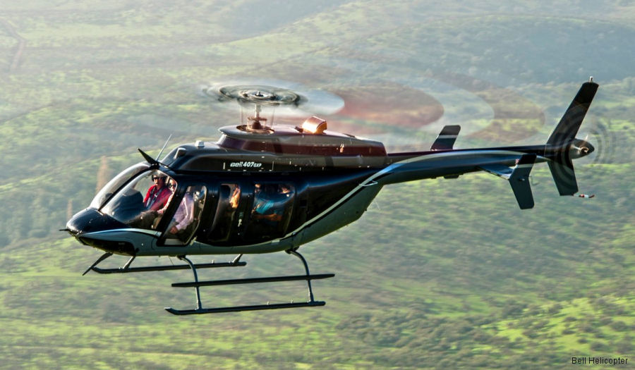 Shaanxi Helicopter Co. Ltd. (SHC) signed for 100 Bell 407GXPs in connection with the framework agreement of 2016. Deliveries to start this year