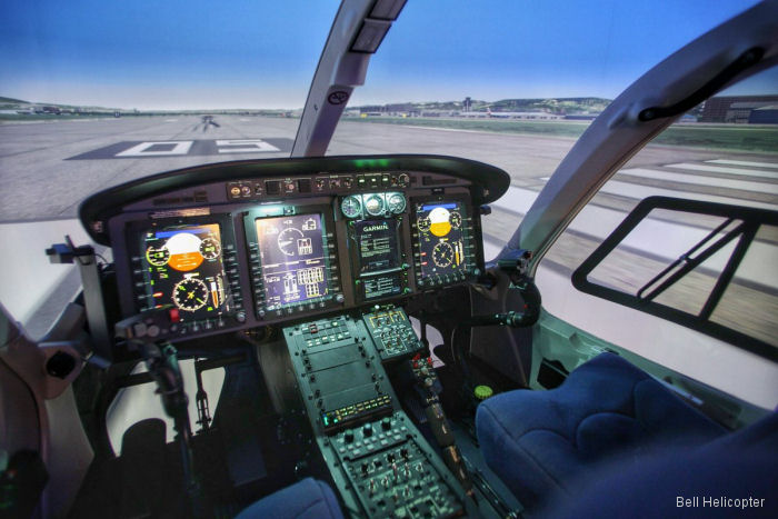 Bell Training Academy in Valancia, Spain (BTA-Valencia) achieve EASA certification of the new facility and the Bell 429 full flight simulator