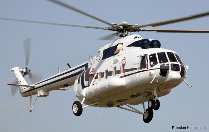 Russian Helicopters to deliver its first civilian helicopter to Pakistan, a Mi-171 to the Balochistan provincial government