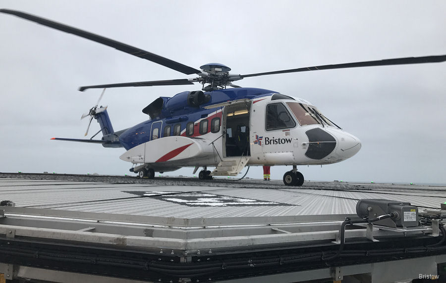 Bristow Norway renewed 5-year deal to provide S-92 helicopter offshore crew change and search and rescue (SAR) services from Hammerfest to support Eni Norge and Statoil in the Barents Sea