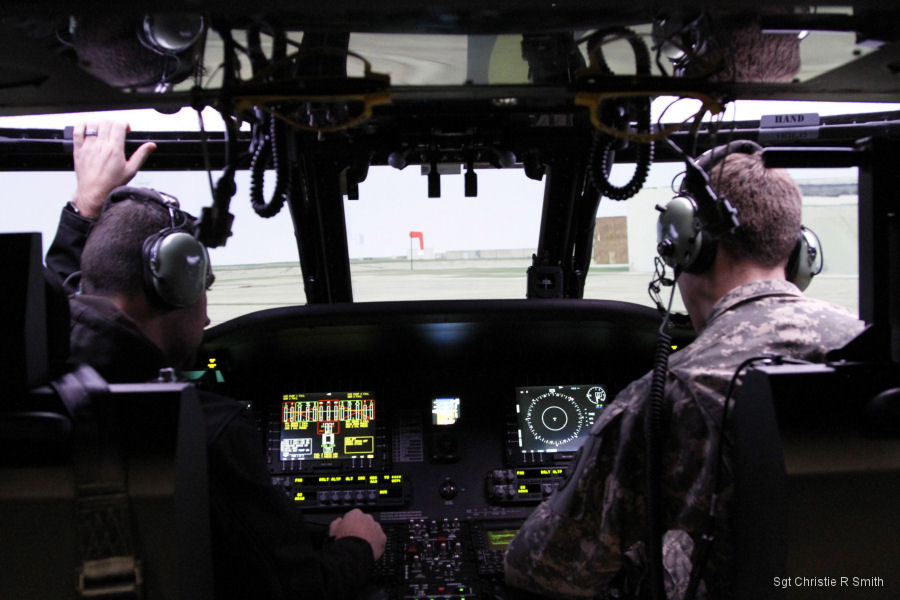 "Black Hawk Aircrew Trainer, known as ""the BAT,"" is a highly immersive, home-station flight training device for the UH-60M helicopter"