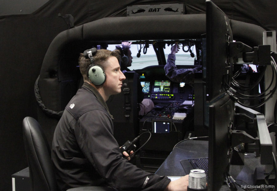 'BAT' Trainer Modernizes Helicopter Simulator Flying