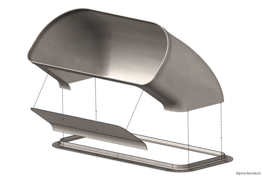 Alpine Aerotech acquired a Transport Canada Repair Design Approval (RDA) for their comprehensive 206L Exhaust Duct Repair.