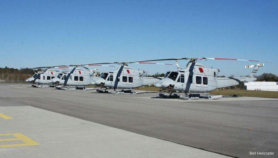 Four Bell 412EP Delivered to Argentina