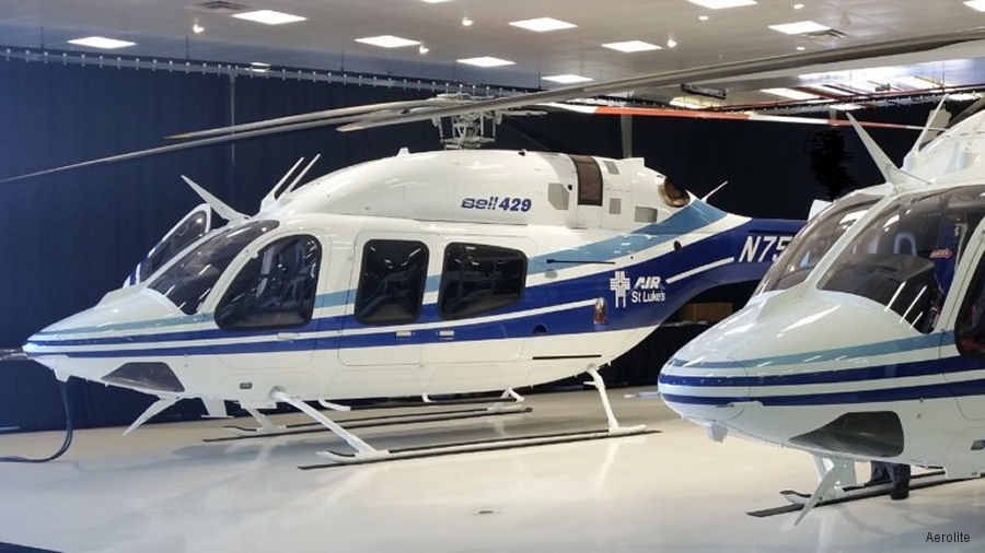 Idaho' Bell 429 with New Medical Interiors