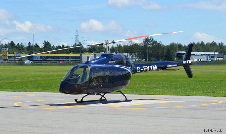 Bell Helicopter Begins Delivery of Nine Bell 505 Jet Ranger X to Chile