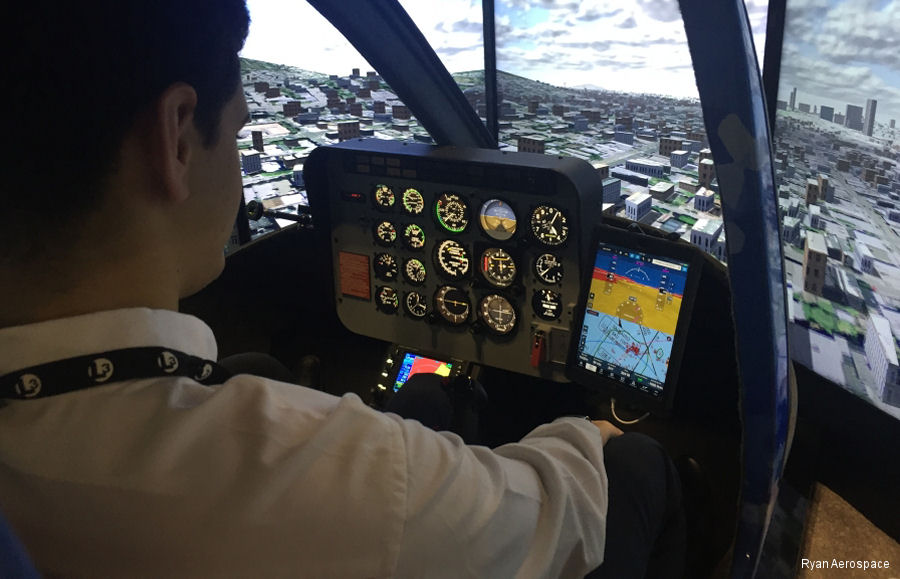 FAA Certification for New Bell 206/407 Simulator