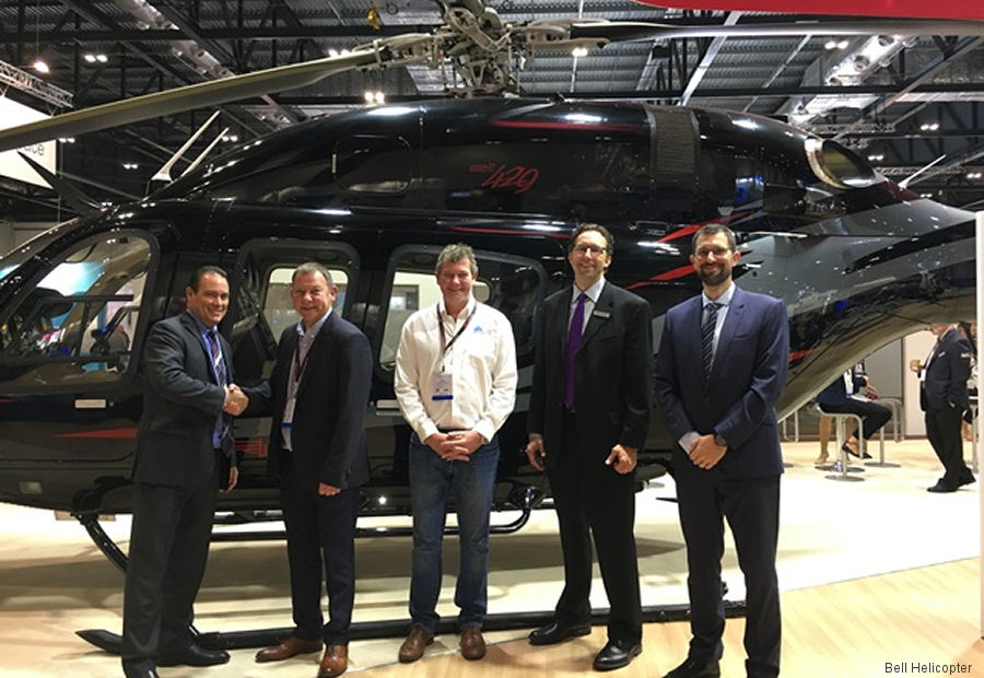 AS Aerospace Ltd, based at Denham Aerodrome, UK  appointed Bell Helicopter Authorized Customer Service Facility (CSF) and will offer Bell 429 field maintenance
