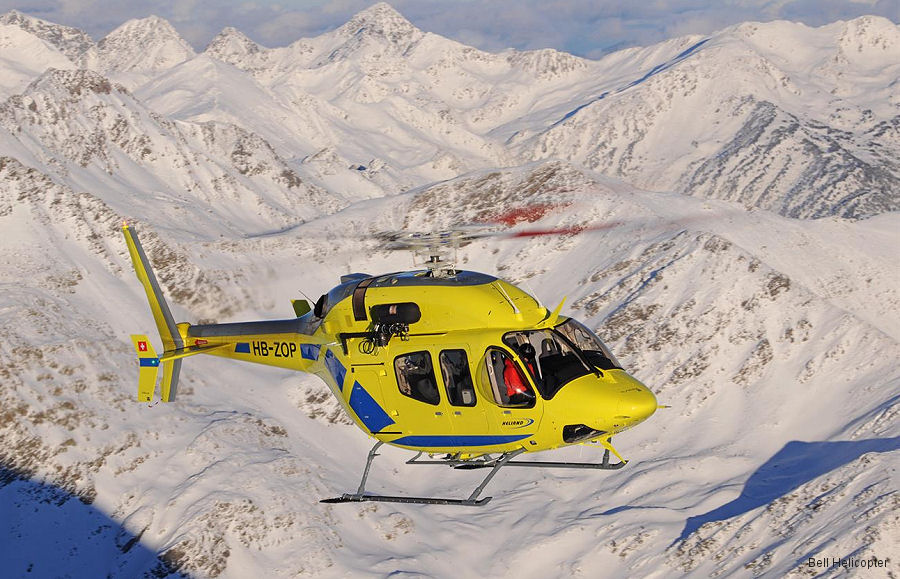 Bell Helicopter's Prague facility delivered a Bell 429 to Heliand in Emergency Medical Service configuration to be use in Andorra. This is the 20th air ambulance delivered this year