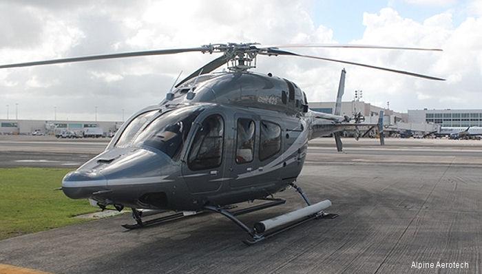 Alpine Aerotech announced the continued and evolving support of the Bell 429 helicopter